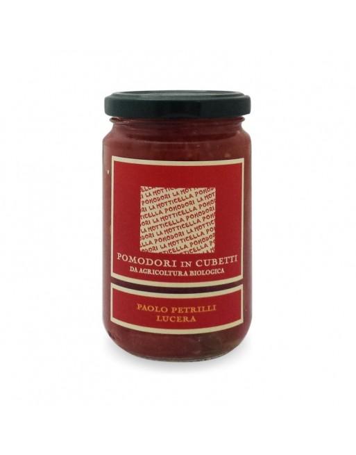 Pomodori cubetti Bio Petrilli 300 GR