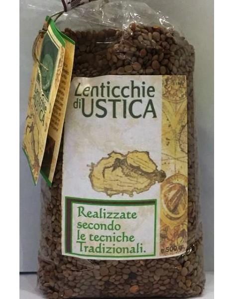 LENTICCHIE DI USTICA SACCHETTO 450 GR