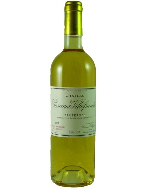 Sauternes 2015 Bio Pascaud Villfranche Magnum