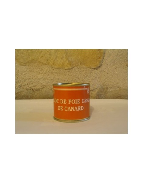 BLOC DE FOIE GRAS DE CANARD 100 GR