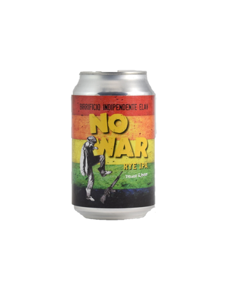 Birra No War rye ipa lattina 0,33 Elav