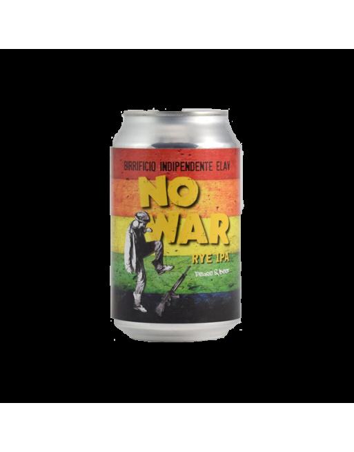 Birra No War rye ipa lattina 0,33 Elav