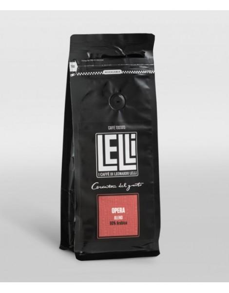 Opera miscela di Caffè Macinato moka 250 g Torrefazione Lelli