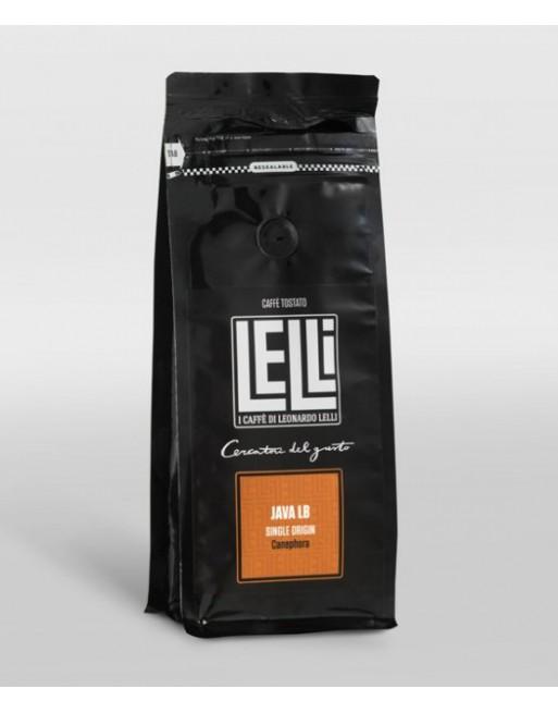 Java Wib LB  Indonesia monorigine di Caffè Macinato moka 250 g Torrefazione Lelli