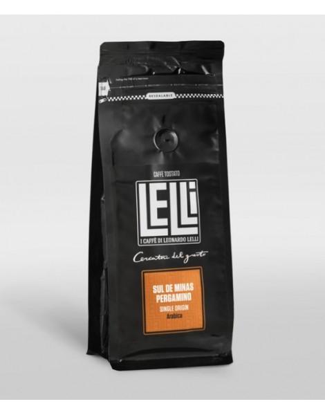 Sul de minas Pergamino Brasile monorigine di Caffè in grani 1 kg Torrefazione Lelli