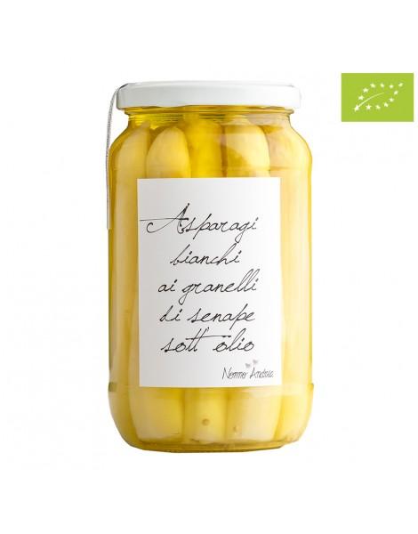 Asparagi Bianchi con senape 500 gr
