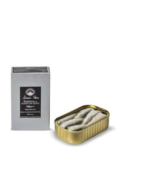 Sardinillas en aceite de oliva - Kg. 0.120