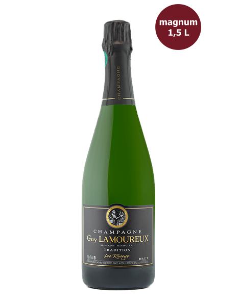 Champagne Brut Tradition Magnum Guy Lamoureux