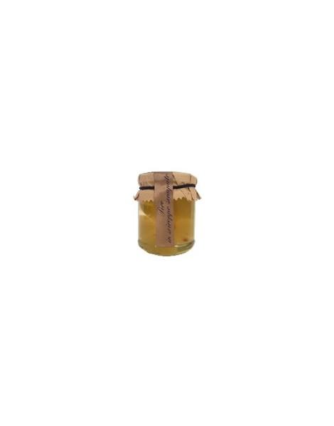 Mostarda  tradizionale tipo cremona monofrutto Mandarino  gr 500 Andrini