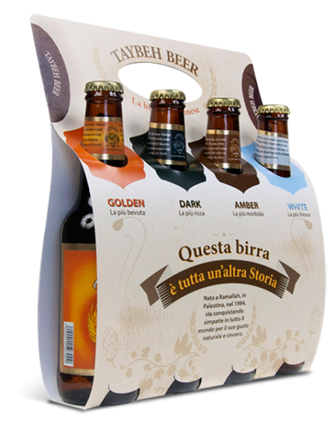 Taybeh Beer BOX 4 bott. Birra Palestinese