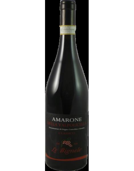 Amarone della Valpolicella Magnum Classico Le Bignele 2012 Cassa Legno