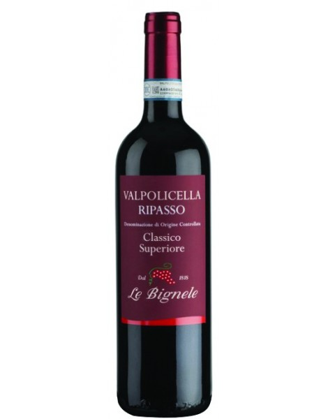 Ripasso Valpolicella Classico Superiore 2015 Le Bignele